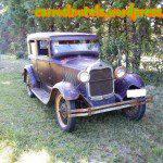 ??? Ford A 1929 Sedan, no Uruguai (fotos: Pablo)