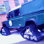 Land Rover (com esteira!)