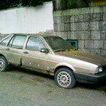 POST 696! Volkswagen Santana