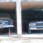 Chevrolet 1951 e Ford Landau 1978-79