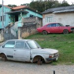 Fiat 147 e Chevrolet Opala