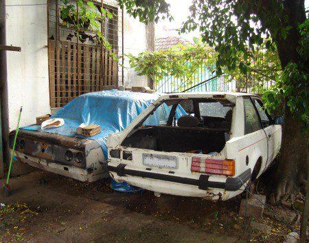 uMarcelo-Carros_abandonados_007-450x353 Chevrolet Opala e Ford Escort