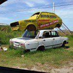 Lada Laika e VW Gol
