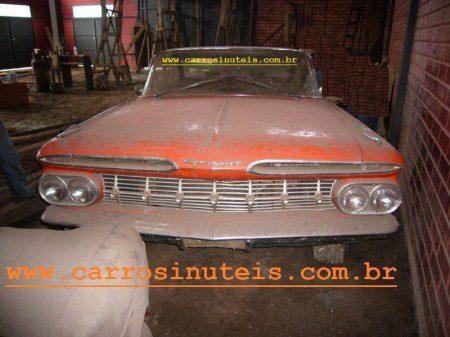 Aramito-impala-1961-hidramatico-Francisco-beltrão-PR-450x337 Chevrolet Impala