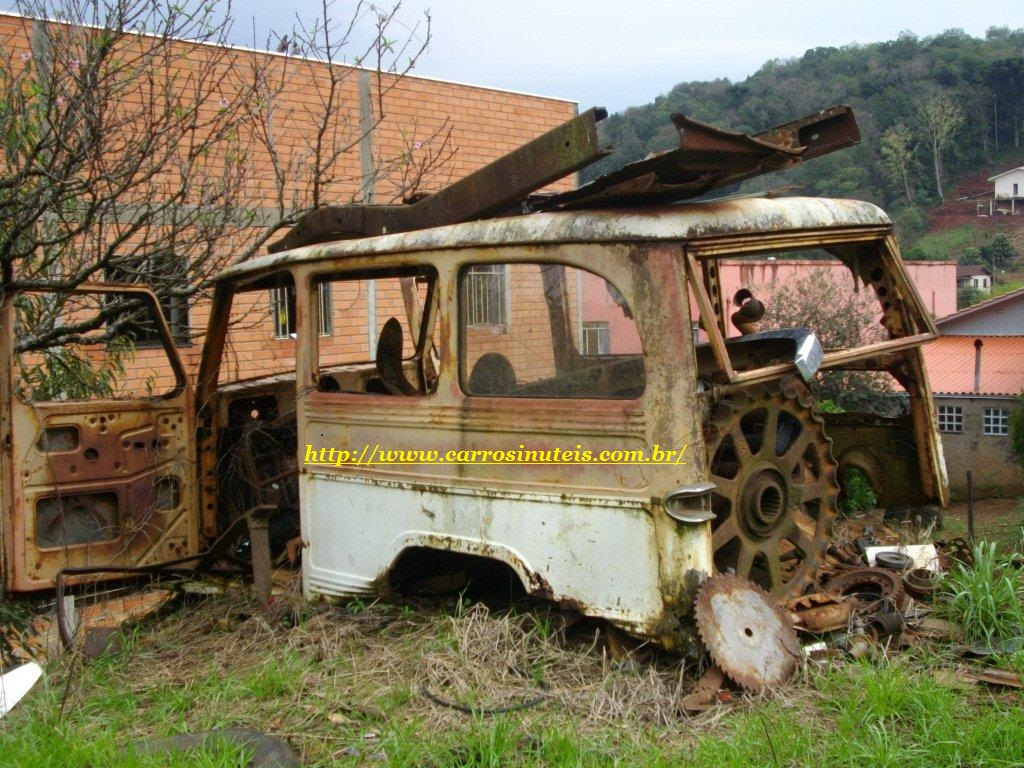 Otavio-Filho-do-Remi-R-Herval-Velho-SC-Rural Rural Willys