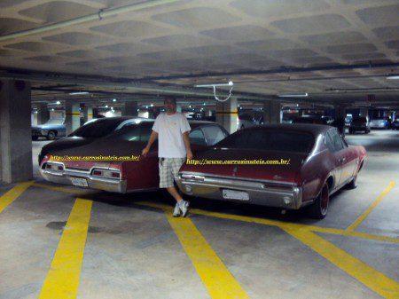Ronaldo-Aeroporto-de-Recife-Pe-1-Oldsmobile-Cutlass-68-e-Chevrolet-Impala-67-450x337 Oldsmobile Cutlass e Chevrolet Impala