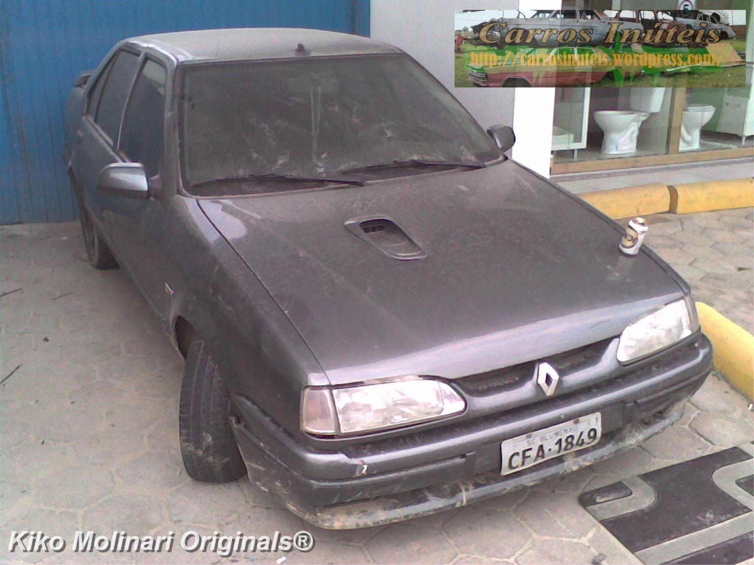 Renault-19-16S-sedan-Kiko-Molinari-Porto-Belo-SC-2 Renault 19 -16S