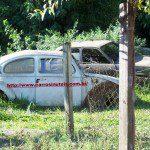Volkswagen Fusca e Chevrolet Chevette 4 portas