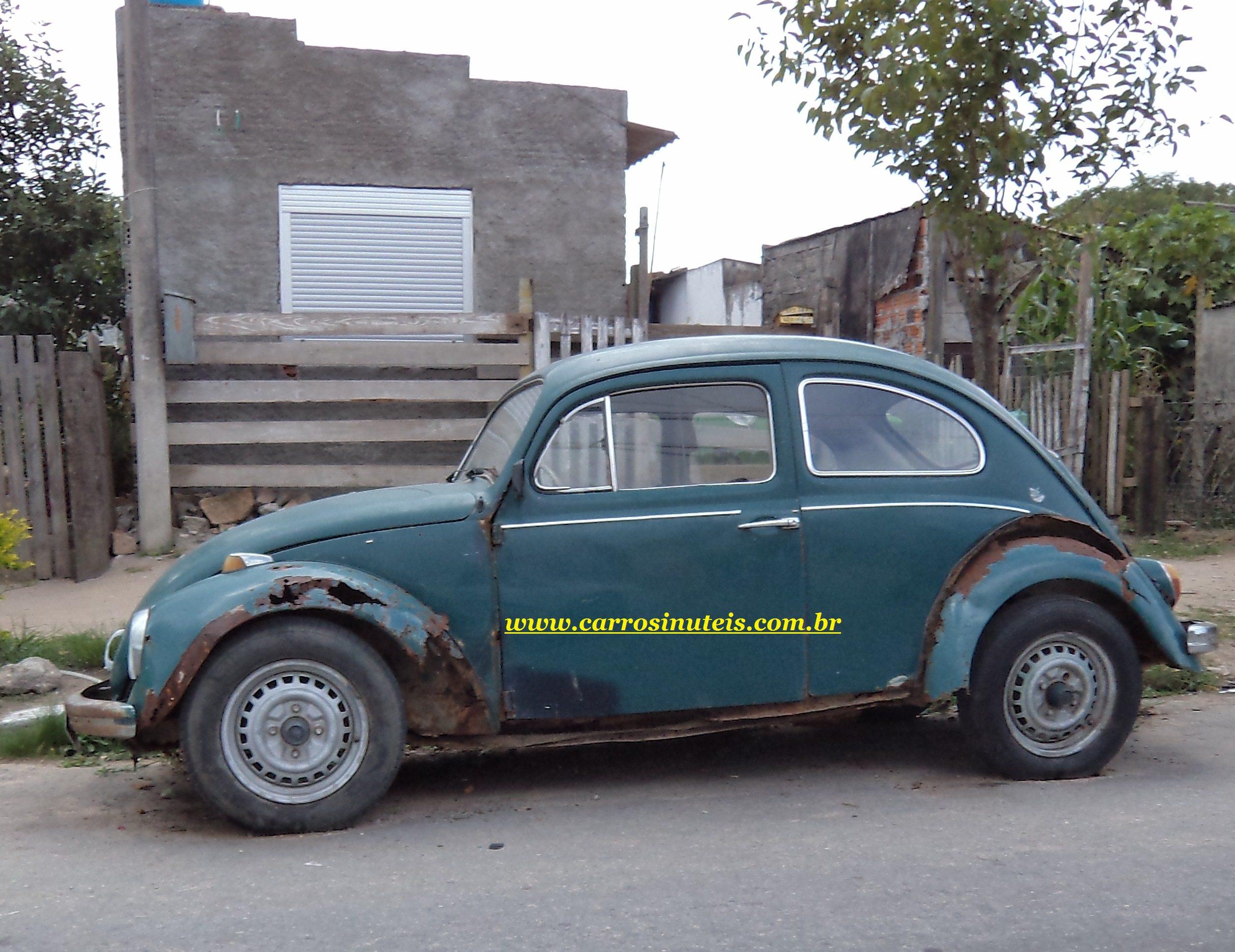 Tiago Pelotas RS Fusca - Carros Inúteis