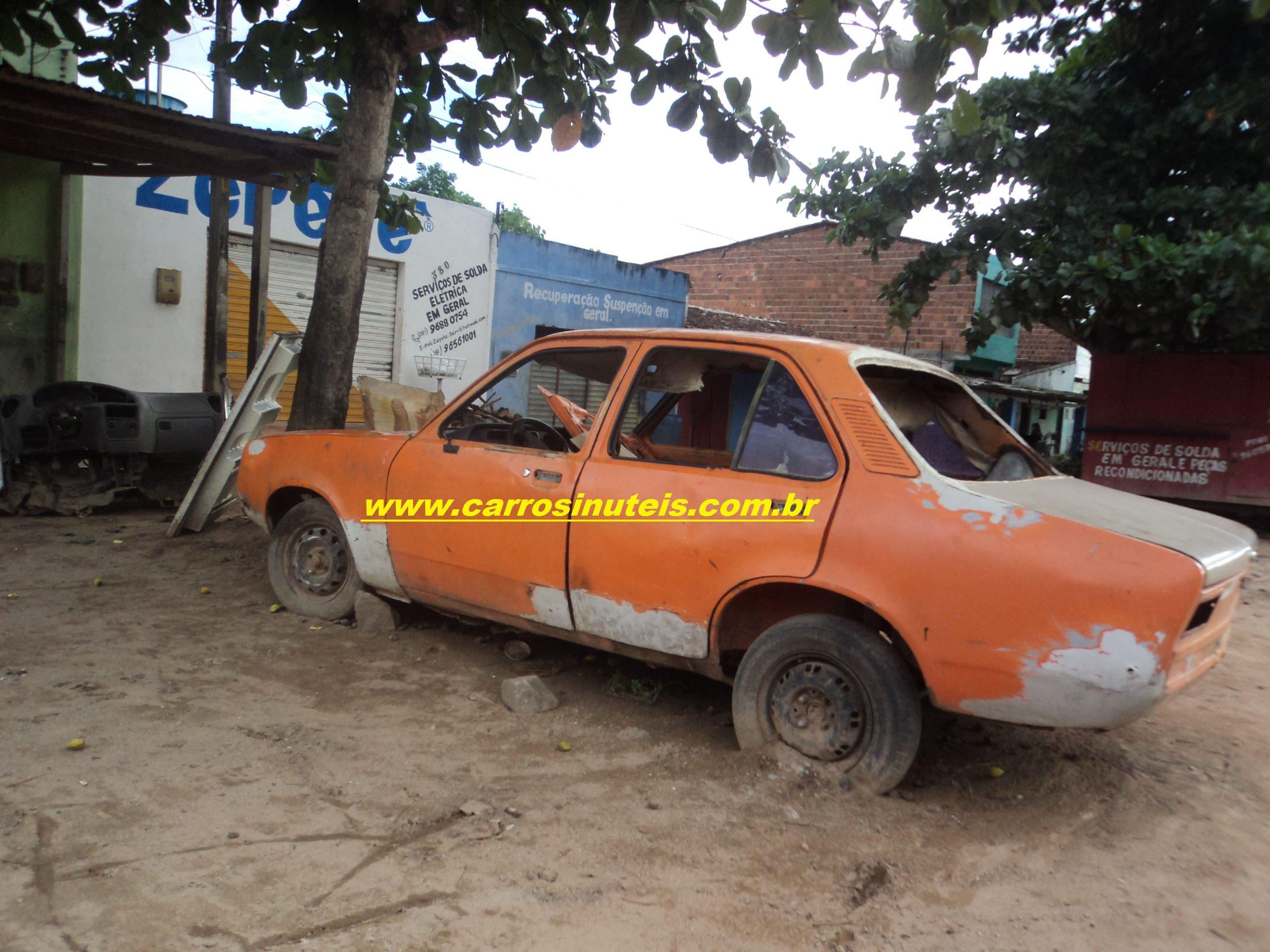 Chevrolet chevette carros in teis for Chevette 4 portas