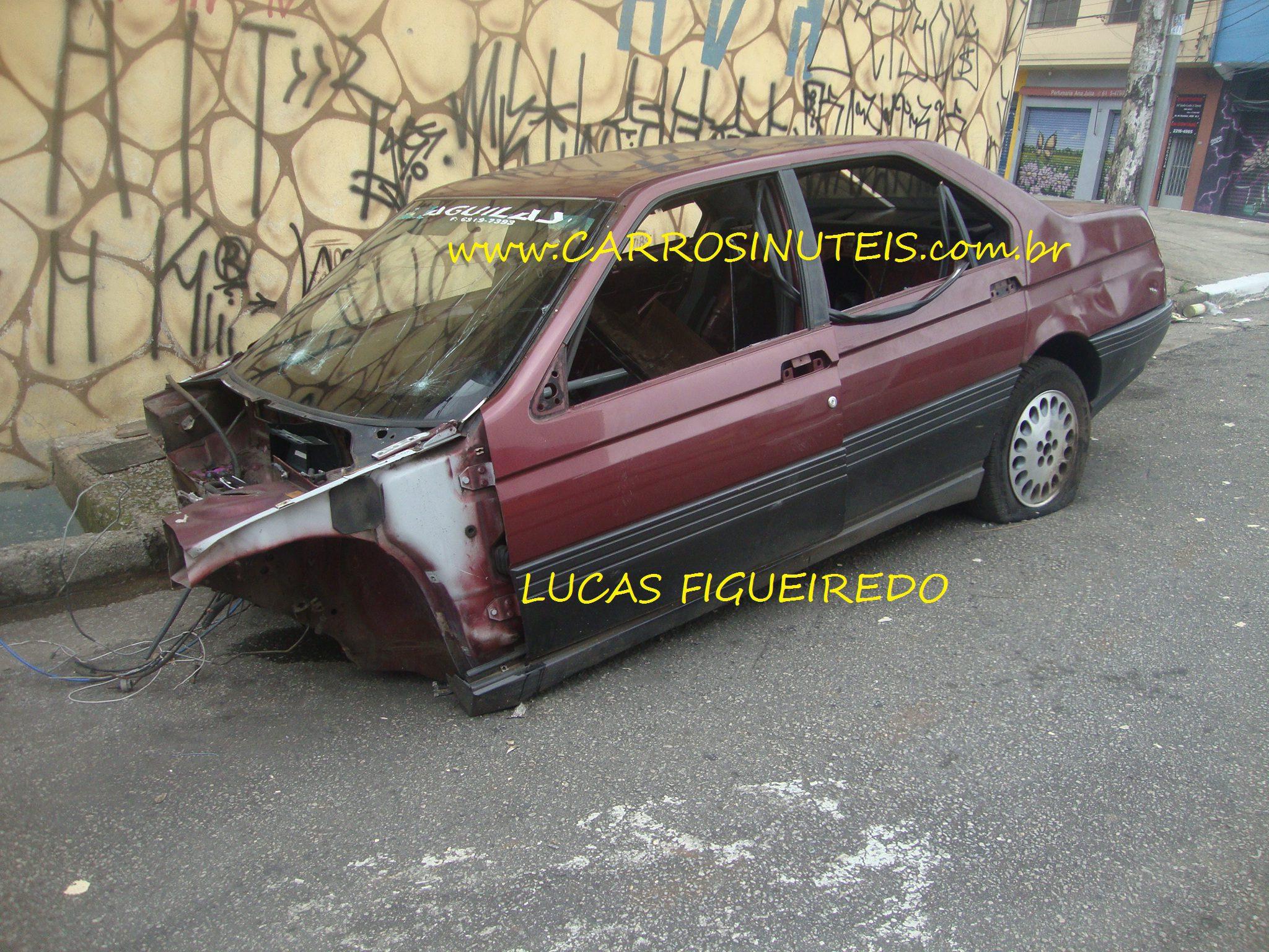 Lucas_Alfa_Romeo164_Sao-Paulo_Capital_03 Alfa Romeo 164, São Paulo, SP.