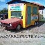 Ford Belina 'Casa', Gravatal, SC. Foto de Ricaom Machado.