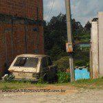 Fiat 147, Rio Negrinho, SC. Foto de Danilo Niespodzinski.