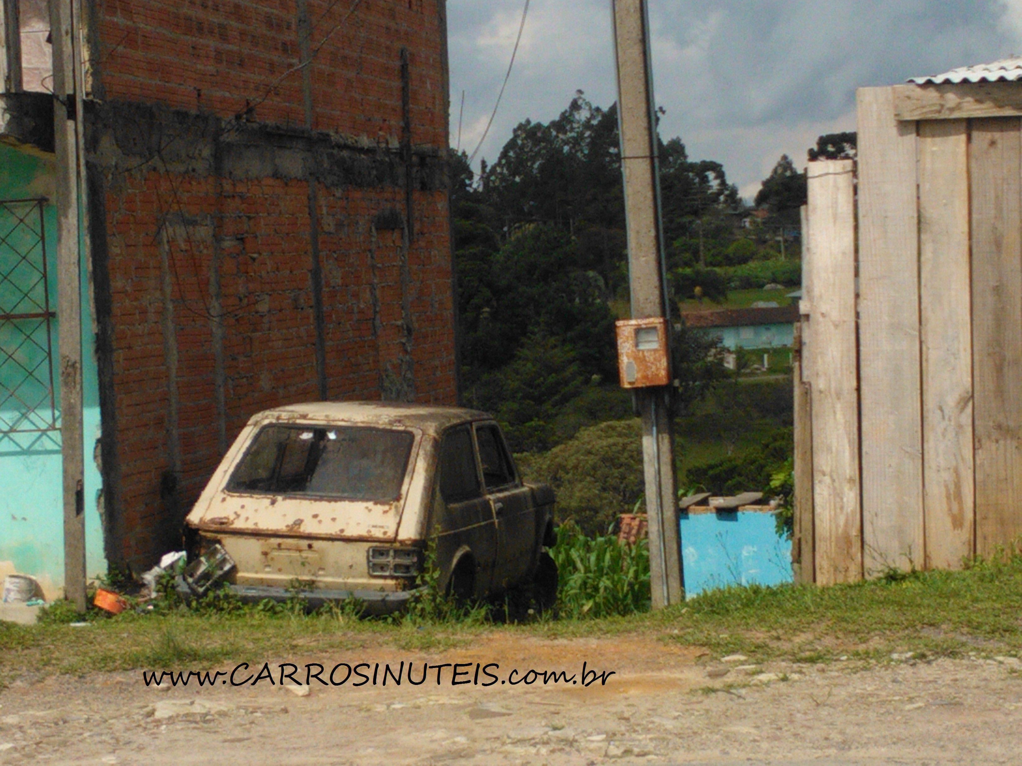 Danilo-Niespodzinski-Fiat-147-RioNegrinho-SC Fiat 147, Rio Negrinho, SC. Foto de Danilo Niespodzinski.