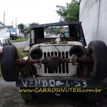 Jeep Willys, São Paulo, SP. Foto de Rodolfo.
