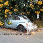 VW Fusca, Araucária, PR. Foto de Gilberto Franca.