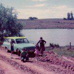 Ford Belina Corcel, Alegrete, RS, Lagoa do Parové, foto de Elisete Dutra