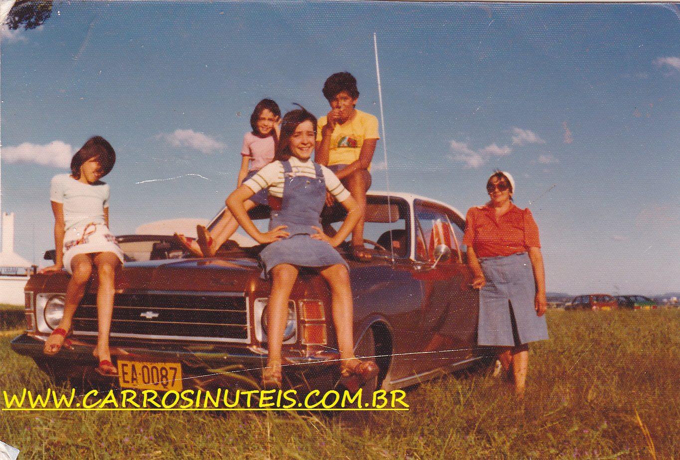 """IMG_0008 GM Opala, fotos do rico acervo pessoal de Elisete Dutra; a caminho da """"fronteira seca"""": Brasil-Uruguai"""