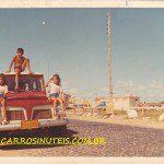 Rural Willys, em 1972, em Tramandaí, RS, colaboração de Elisete Dutra