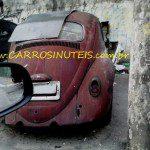 VW Fusca, Grajaú, SP. Foto de Rodolfo Lira.