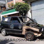 Fiat Uno, Grajaú, SP. Foto de Manoel Sousa.
