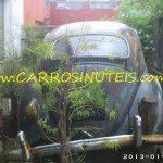 VW Fusca, Buenos Aires, Argentina. Foto de Monica Camparosa.
