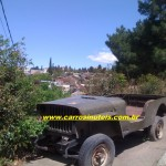 Jeep Willys, foto de Cláudio (local, infelizmente, não-informado)