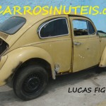 VW Fusca, São Paulo, SP. Foto de Lucas.