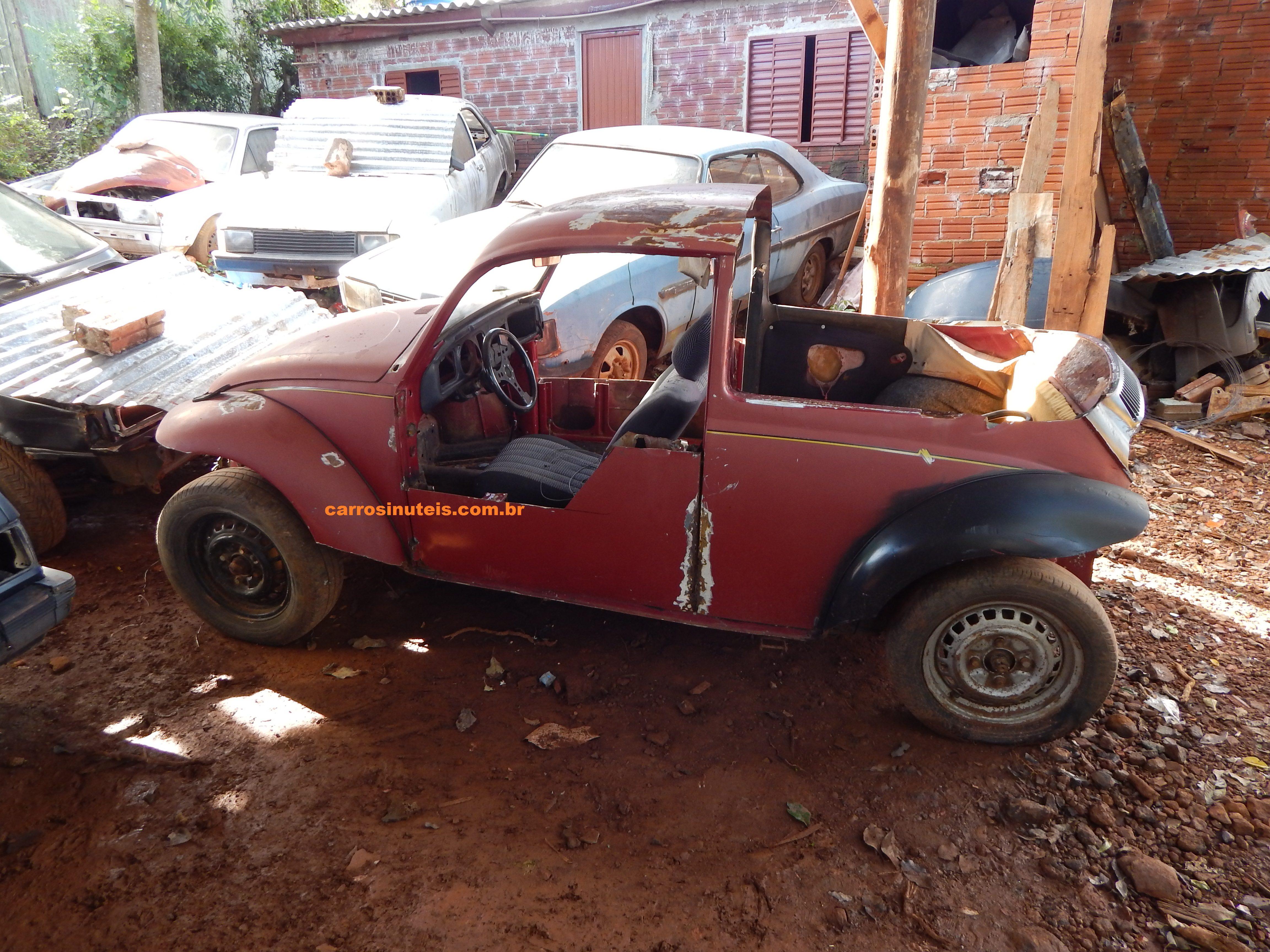 Julio-São-Miguel-do-Oeste-fusqueta VW Fusca (!) - Julio - São Miguel do Oeste - Santa Catarina