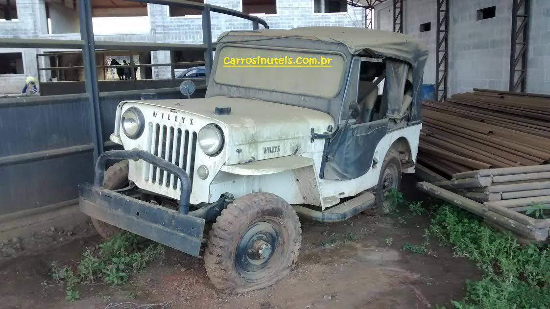 Luciano-região-metropolitana-de-Curitiba-jeep Jeep Willys, Luciano, região metropolitana de Curitiba, PR