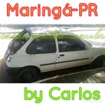 Ford Fiesta, no Paraná, by Carlos