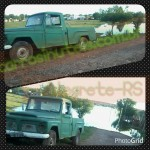 Ford F75. by Isa. Alegrete-RS