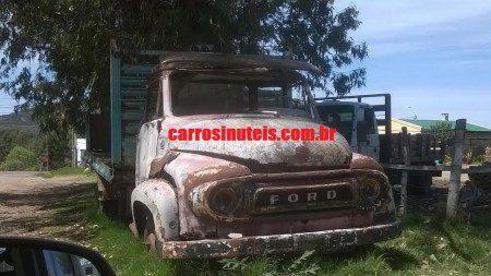 Caminhão Ford Piriapolis-Uruguai Miguel
