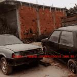 Dupla Fiat Uno e GM Chevette – Igor Vieira – Duque de Caxias, RJ